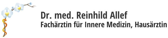 Dr. Med Reinhild Allef
